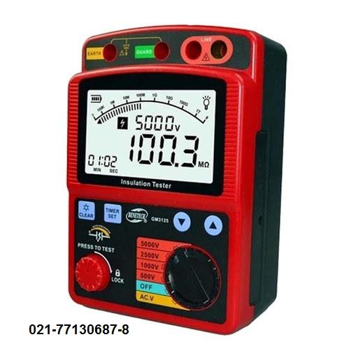 تستر عایق و میگر 5000 ولت دیجیتال بنتک BENETECH GM 3125